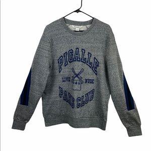 elevenparis Cagille Grunder Grey Sweatshirt NWT